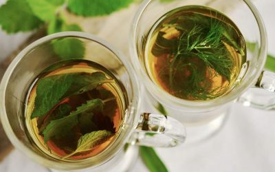 How To Do A Green Tea Rinse for Hair