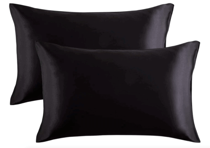 image of the best satin pillowcase, which is necessary for taking care of natural hair