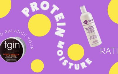 Why Your Protein-Moisture Ratio Is The Key To Nailing Your Natural Hair Routine