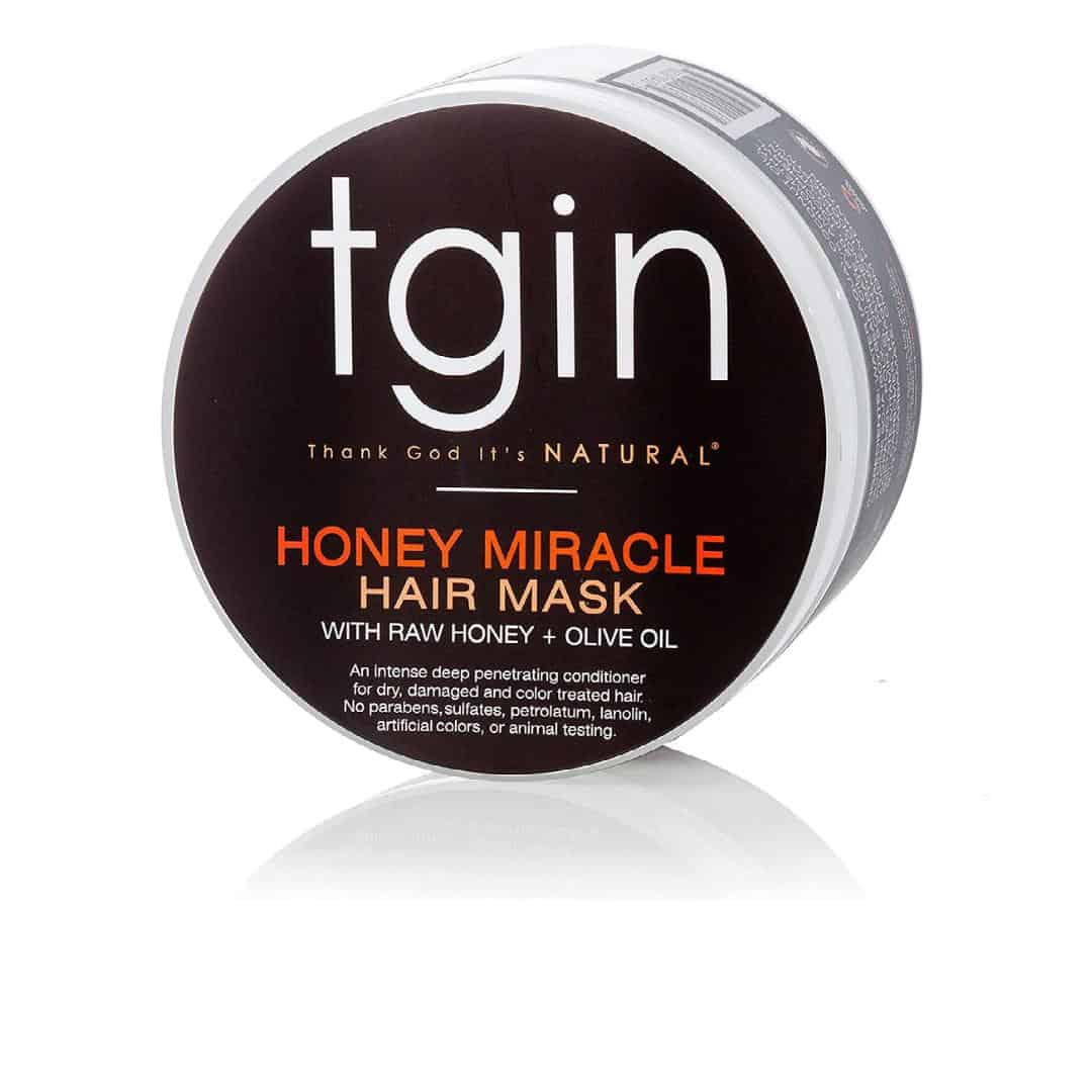 an image of best products for fine type 4 natural hair_tgin honey miracle hair mask