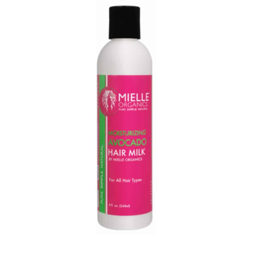 an image of mielle moisturizing avocado hair milk