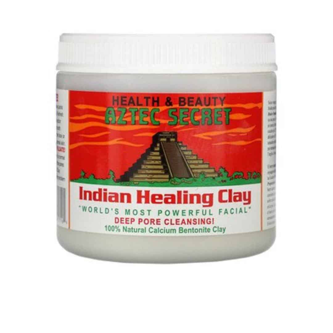an image of aztec clay mask indian healing clay