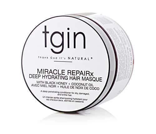 an image of tgin Miracle Repairx Deep Hydrating Hair Masque