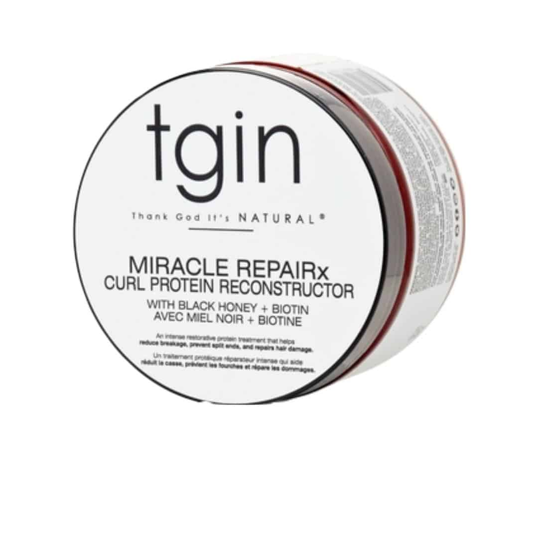 an image of tgin miracle repairx curl protein reconstructor