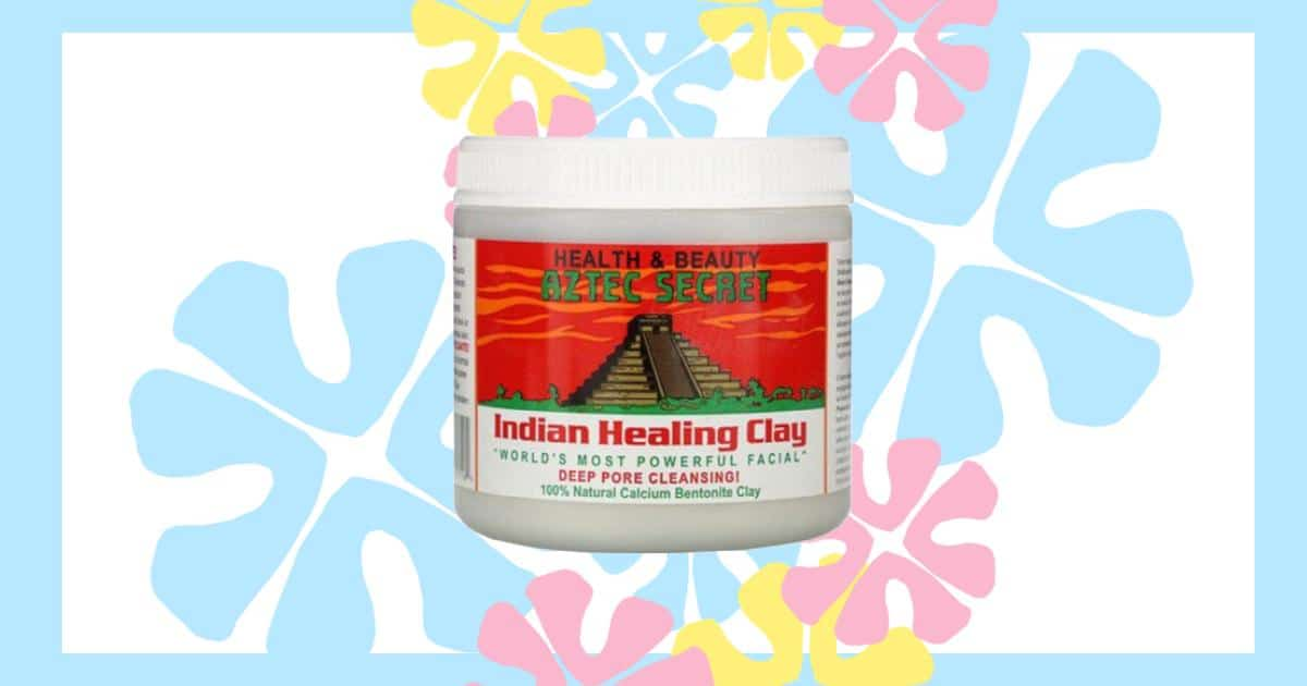 an image of the indian healing aztec clay mask